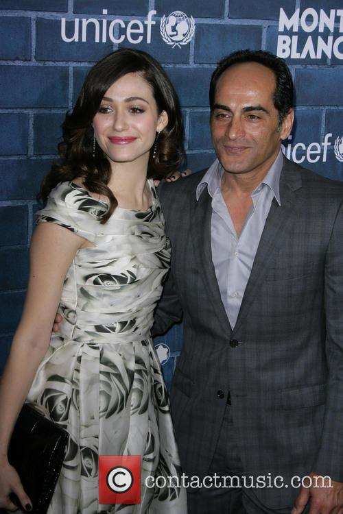 Emmy Rossum and Navid Negahban 11