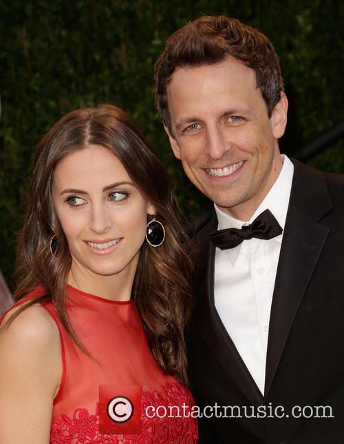 Seth Meyers Girlfriend Oscars