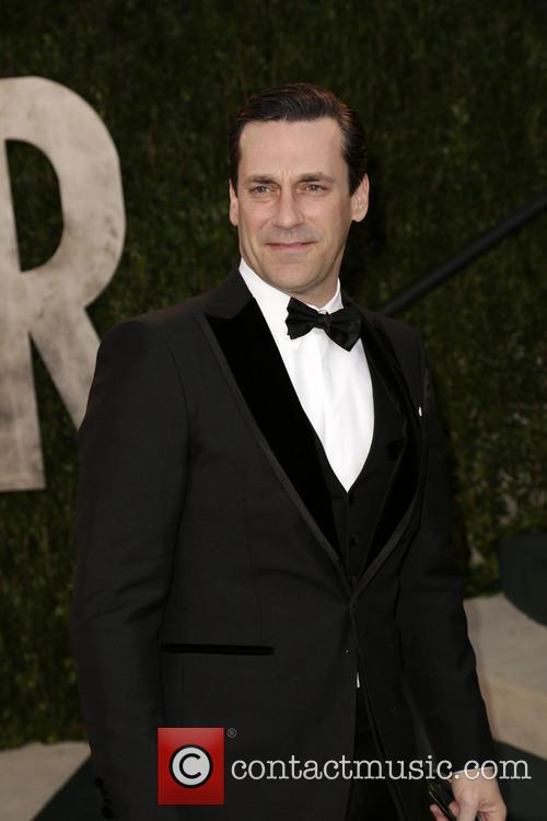 Jon Hamm, Vanity Fair Oscar Party