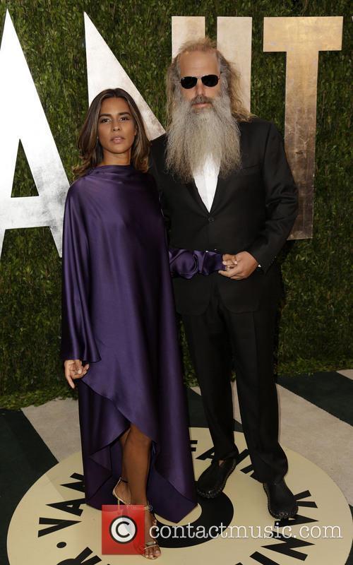 Mourielle Herrera and Rick Rubin 6