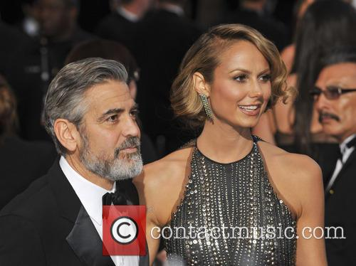 George Clooney, Stacy Keibler, Oscars