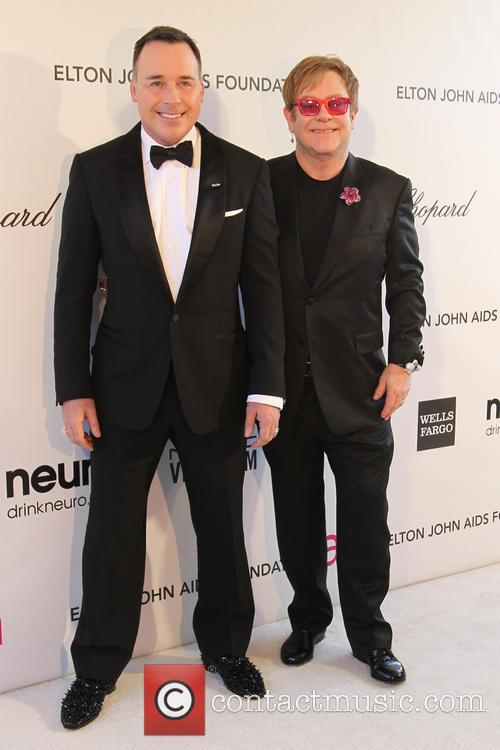 Sir Elton John and David Furnish 1
