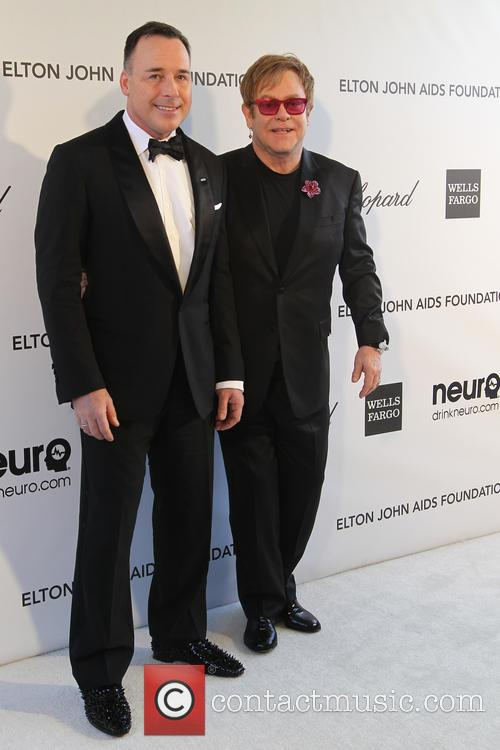 Sir Elton John and David Furnish 9