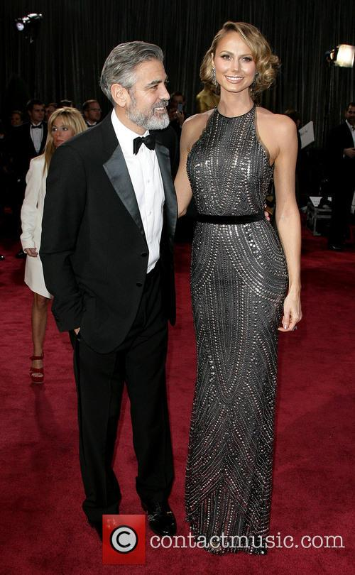 George Clooney and Stacy Keibler 3