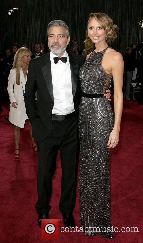 George Clooney and Stacy Keibler 4