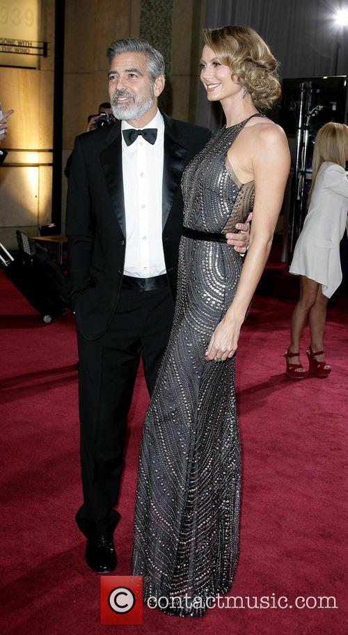 George Clooney and Stacy Keibler 5