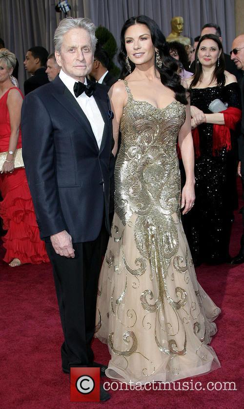 Michael Douglas Catherine Zeta Jones Oscars