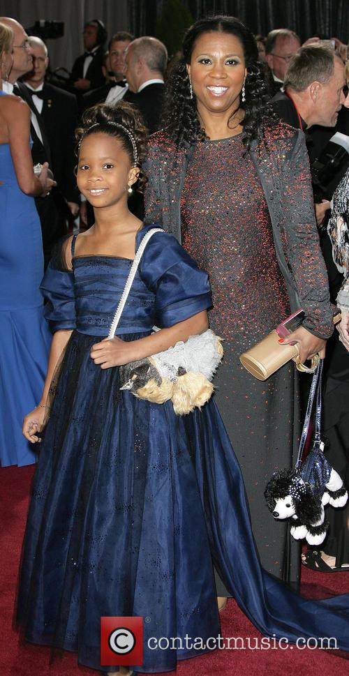 Quvenzhane Wallis and Qulyndreia Wallis 1
