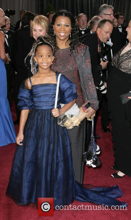 Quvenzhane Wallis and Qulyndreia Wallis 4