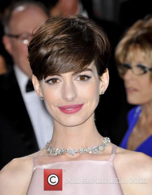 anne hathaway the 85th annual oscars at 3526421