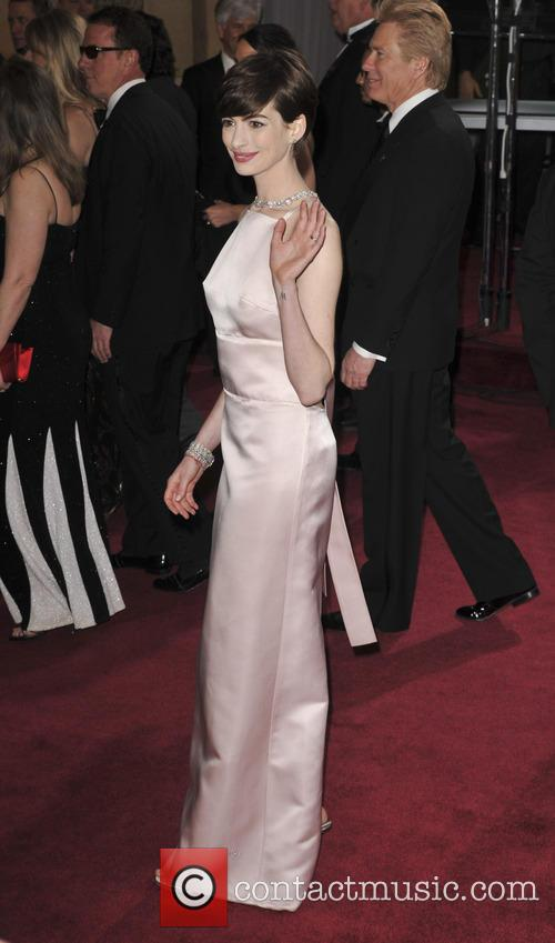 anne hathaway the 85th annual oscars at 3526469