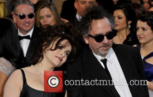Helena Bonham Carter and Tim Burton 8