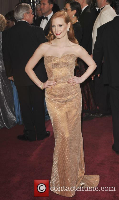 jessica chastain the 85th annual oscars at 3526502