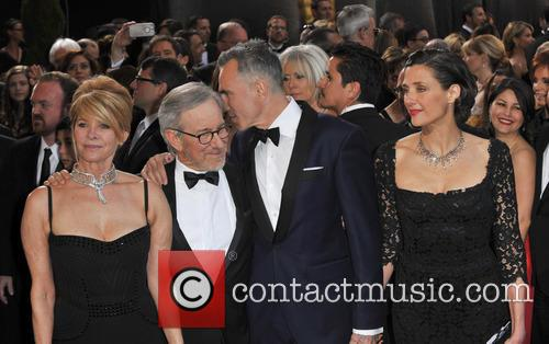 Kate Capshaw, Steven Spielberg, Daniel Day-lewis and Rebecca Miller 1