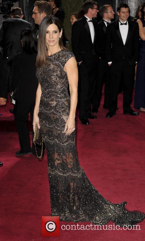 Sandra Bullock, Oscars Red Carpet