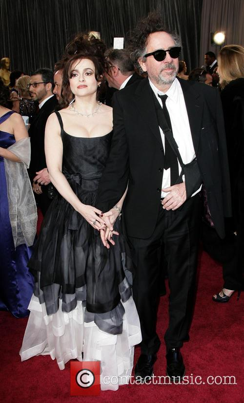 Helena Bonham Carter and Tim Burton 6