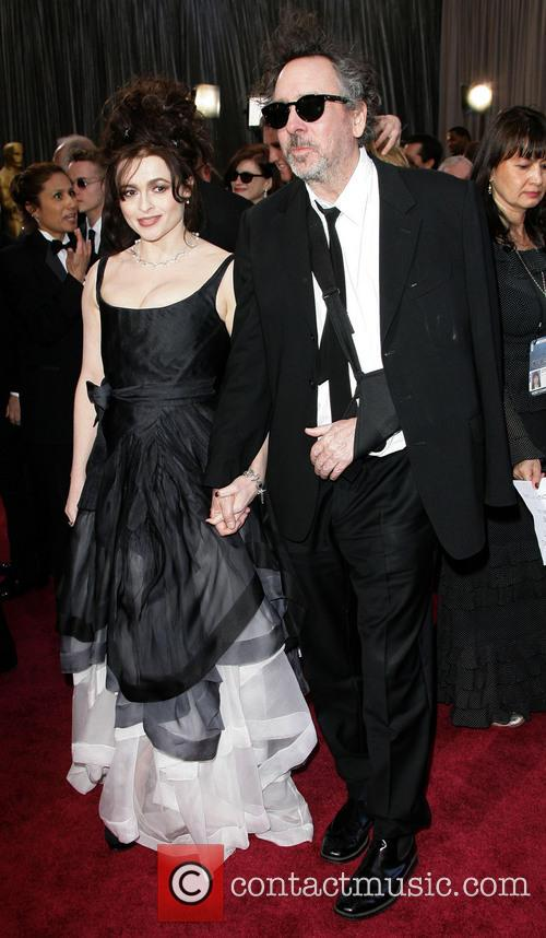 Helena Bonham Carter and Tim Burton 7