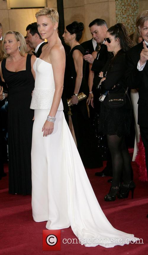 charlize theron oscars red carpet arrivals 3522132