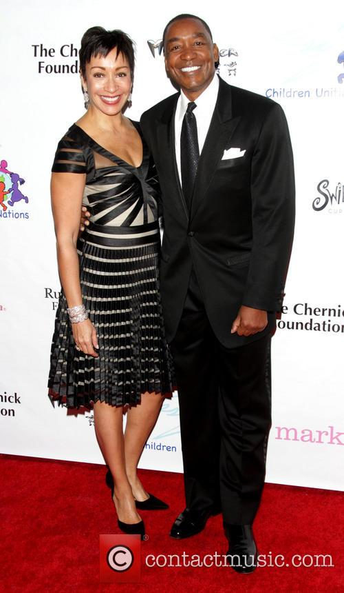 Uniting Nations, Isiah Thomas and Wife Lynn 4