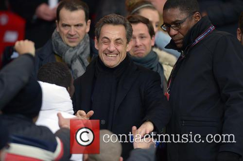 nicolas sarkozy david beckham plays his first 3529269