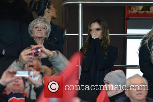 Victoria Beckham and Sandra Beckham 2