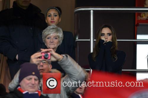 Victoria Beckham and Sandra Beckham 3