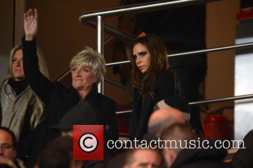 Victoria Beckham, Sandra Beckham and Joanne Beckham 4