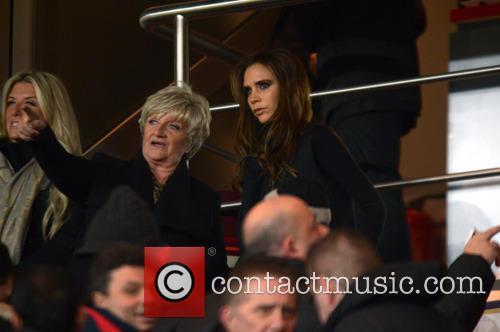 Victoria Beckham, Sandra Beckham and Joanne Beckham 5