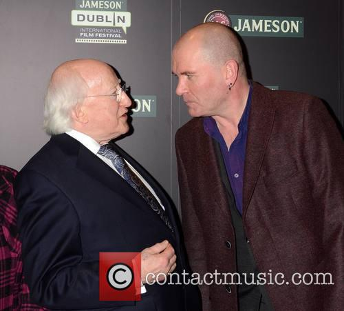 Michael D Higgins and Gavin Friday 1