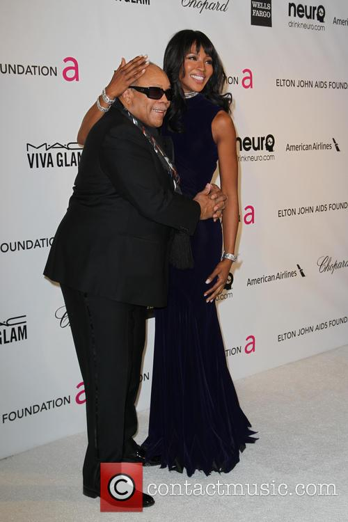 Quincey Jones and Naomi Campbell 3