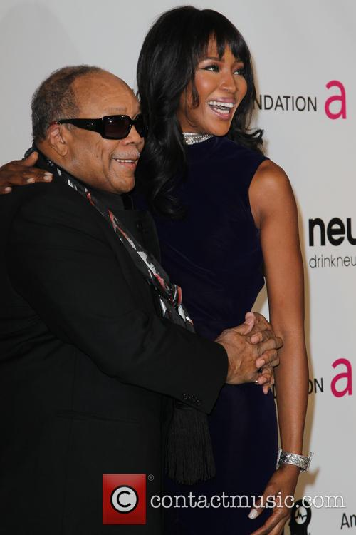 Quincey Jones and Naomi Campbell 1