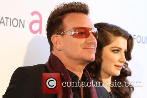 Eve Hewson and Bono 1