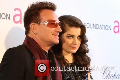 Eve Hewson and Bono 2