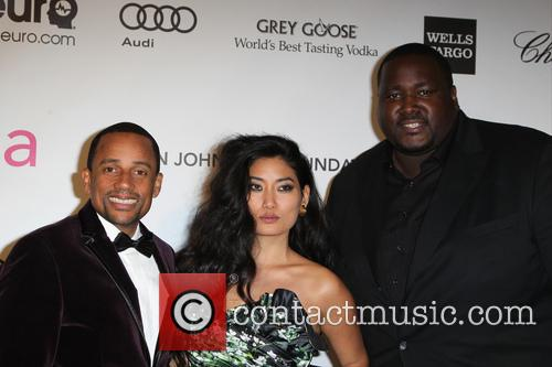 Hill Harper, Chloe Flower and Quinton Aaron 2