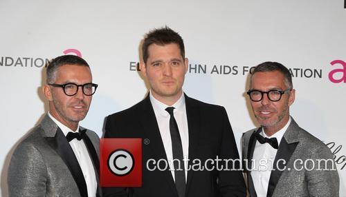 Michael Buble, Dean Caten and Dan Caten 2