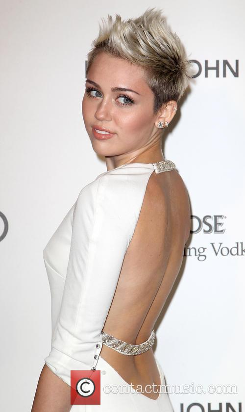 Miley Cyrus, Elton John Oscar Party
