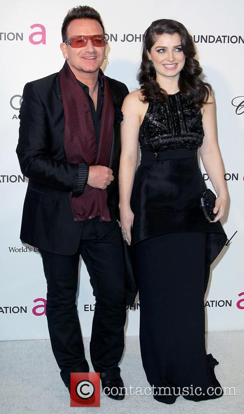 Bono and Eve Hewson 2