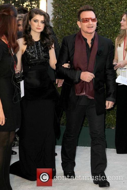 Bono and Eve Hewson 1