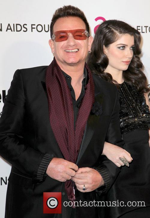 Bono and Eve Hewson 4