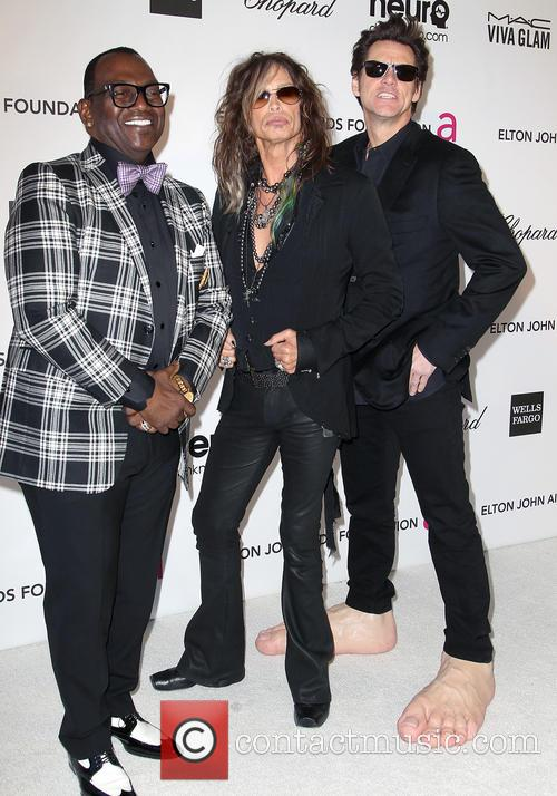 Jim Carrey, Steven Tyler and Randy Jackson 5