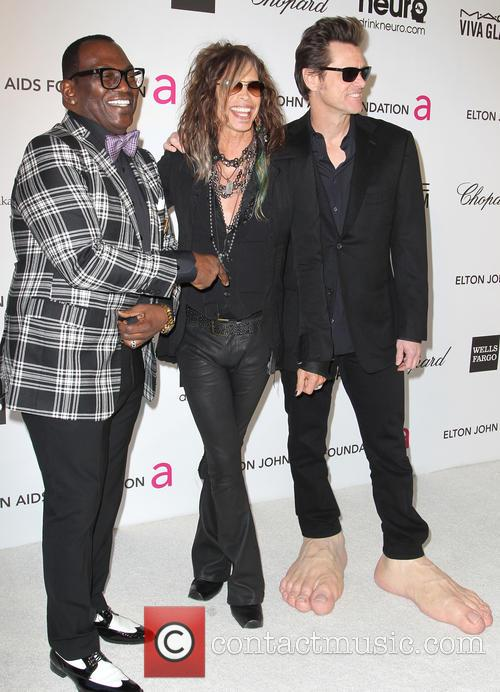 Jim Carrey, Steven Tyler and Randy Jackson 10