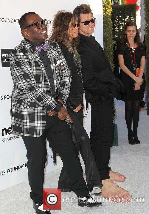 Jim Carrey, Steven Tyler and Randy Jackson 11