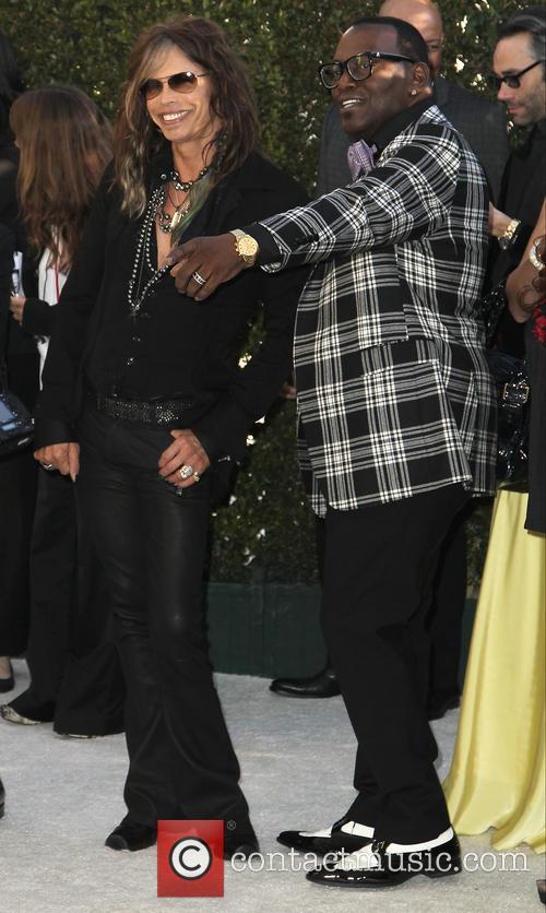Steven Tyler and Randy Jackson 4