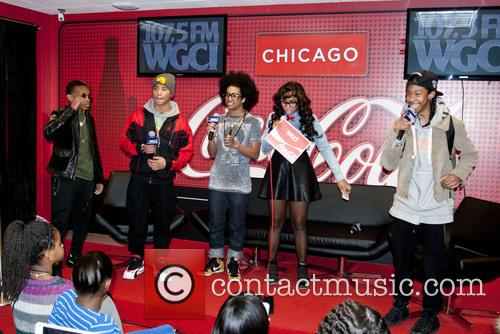 Boy band 'Mindless Behavior' are interviewed by WGCI...