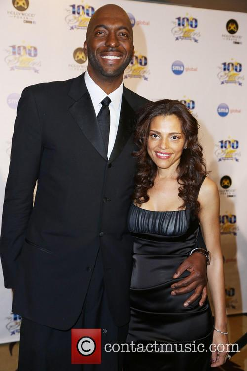 John Salley and guest 1