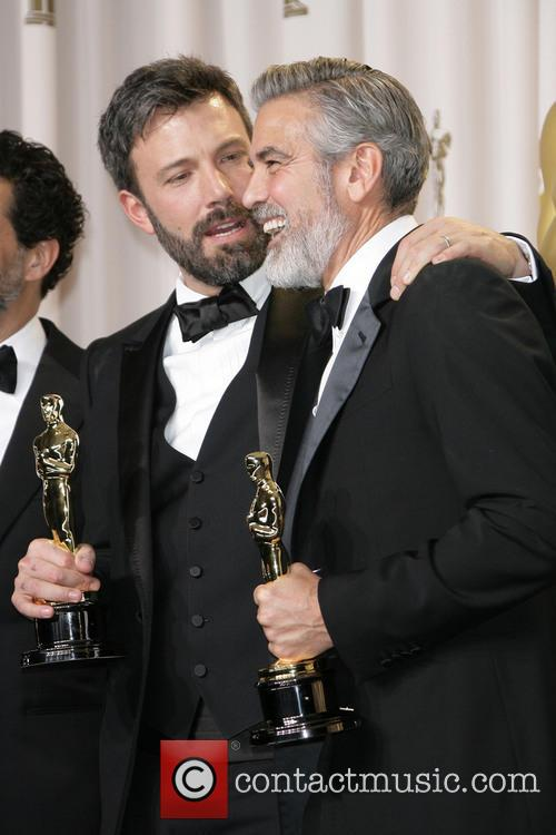 Ben Affleck and George Clooney 1