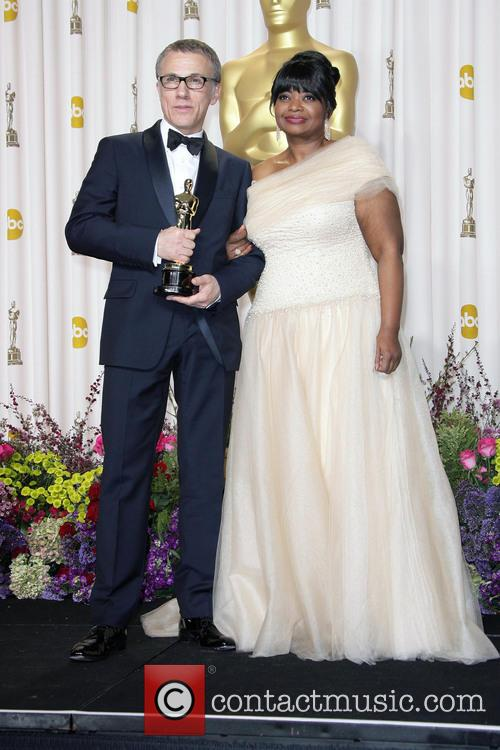 Christoph Waltz and Octavia Spencer 2