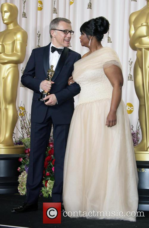 Christoph Waltz and Octavia Spencer 3