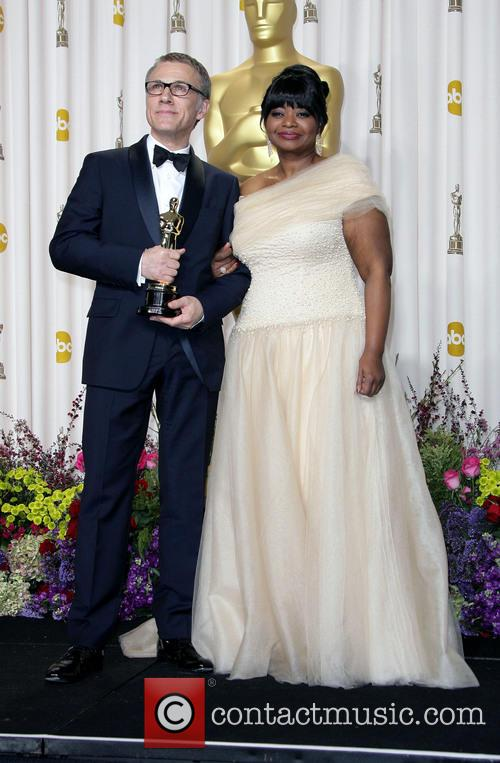 Christoph Waltz and Octavia Spencer 6