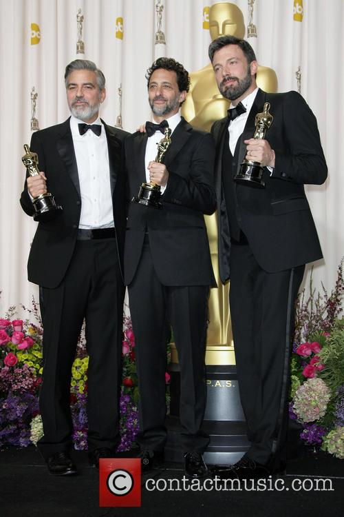 Grant Heslov, Ben Affleck and George Clooney 2